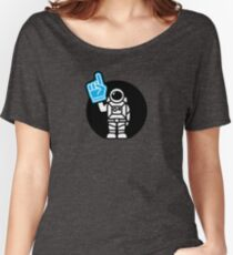 Lonely Astronaut - Supporting the Home Planet Team Women's Relaxed Fit T-Shirt