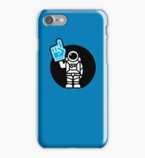Lonely Astronaut - Supporting the Home Planet Team iPhone Case/Skin