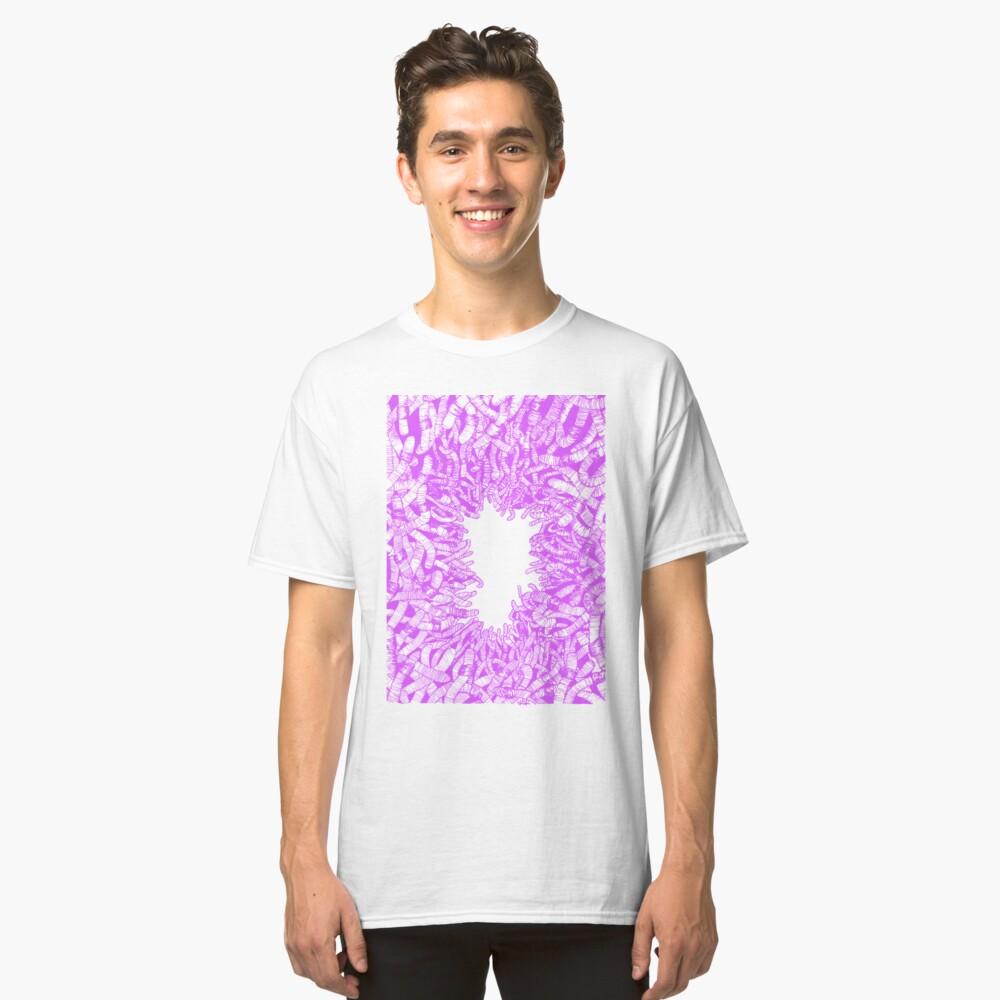 WORM: PURPLE Classic T-Shirt Front