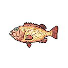 Red seabream by smalldrawing