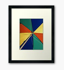 Beautiful Mundane 01 - The Summer Umbrella  Framed Print