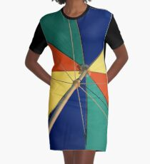 Beautiful Mundane 01 - The Summer Umbrella  Graphic T-Shirt Dress