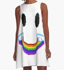 Rainbow Smile Robe trapèze