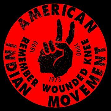 AIM (Indianerbewegung) von truthtopower
