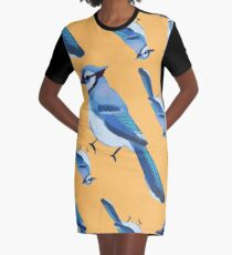 BABY BLU3 JAY COLLAGE Graphic T-Shirt Dress