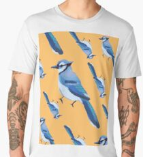 BABY BLU3 JAY COLLAGE Men's Premium T-Shirt