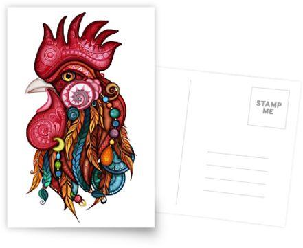 Stammes-Hahn-Design von lissantee