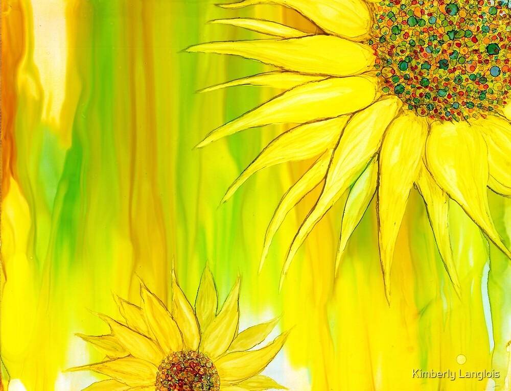 Sunflowers by Kimberly Langlois