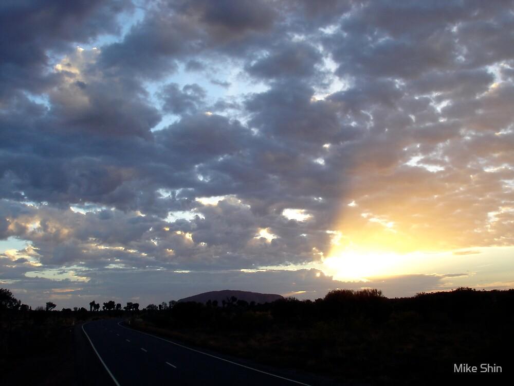 Outback skies, Australia by Mike Shin