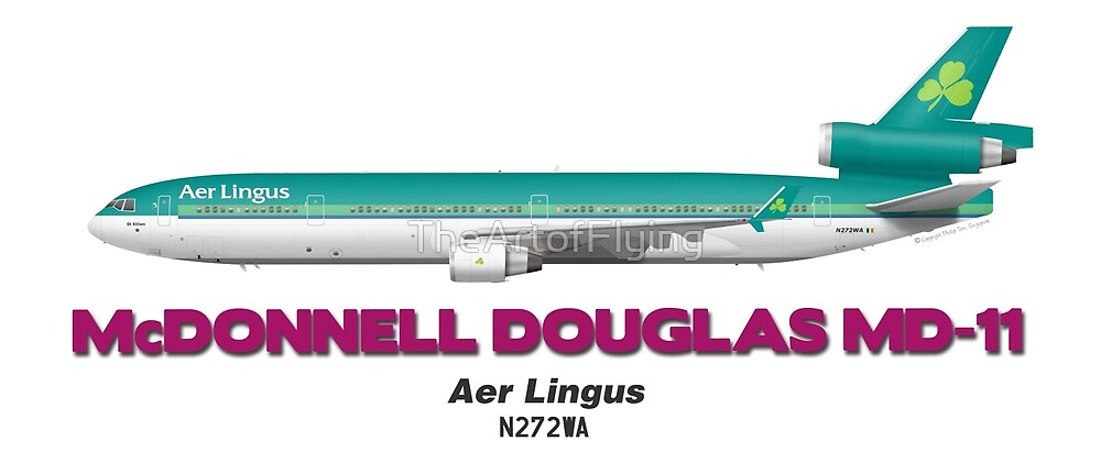 McDonnell Douglas MD-11 - Aer Lingus by TheArtofFlying