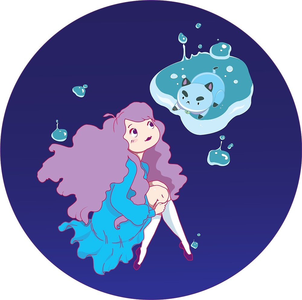Bee and Puppycat by Peevelmouse