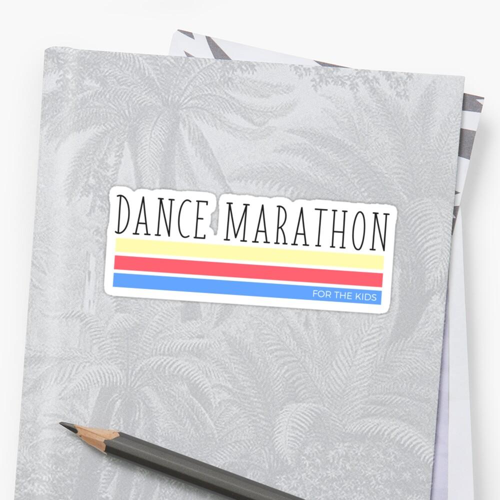 Dance Marathon Tricolored Blocks by annmariestowe