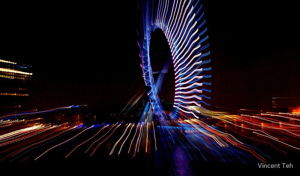 London Eye by Vincent Teh