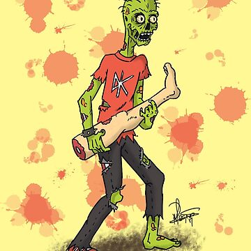 Zombie Rock by crazyowl