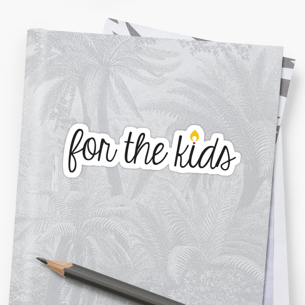 Simple For the Kids with Flame by annmariestowe