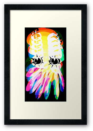 Squid No 19 - Refracted Rainbow by Jon Jackson