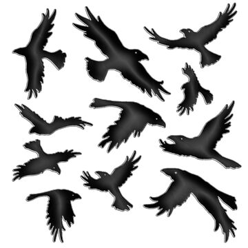 The Crows by Rte73DesignPrt