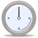 Clock Twelve by Henrik Lehnerer