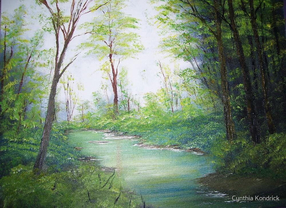 Little Creek by Cynthia Kondrick