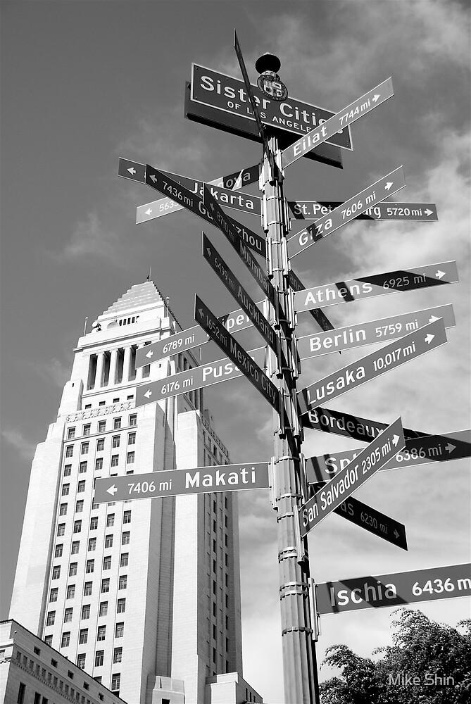 Downtown LA by Mike Shin