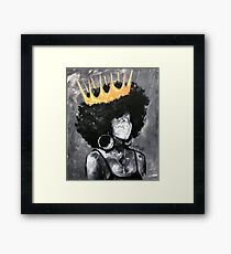 Naturally Queen II Framed Print