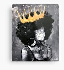Naturally Queen II Metal Print
