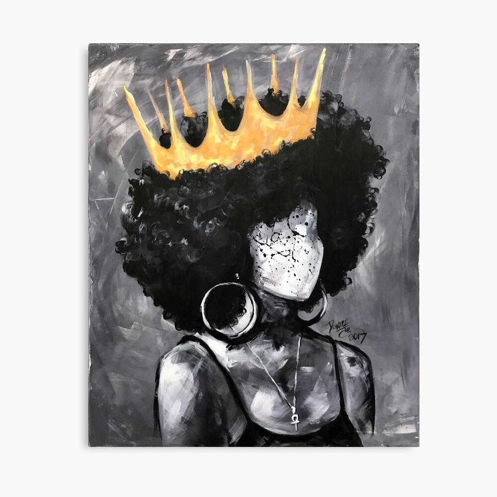 Natürlich Königin II Leinwanddruck