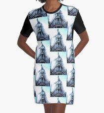 Gringotts Bank Dragon Graphic T-Shirt Dress
