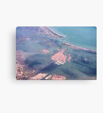 Venice and the Laguna Veneta Canvas Print