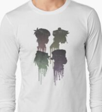 Demon Days Album Cover Long Sleeve T-Shirt