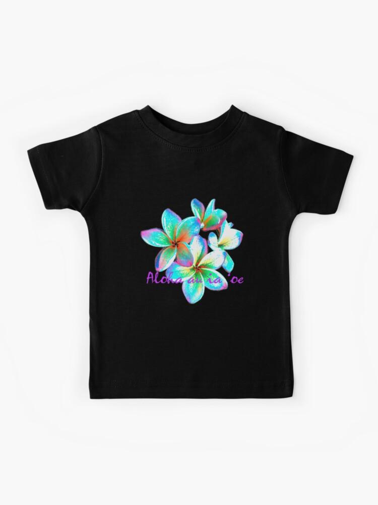 I love you in Hawaiian, Hawaiian Flower | Kids T-Shirt