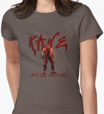 Big Red Monster   Kane Womens Fitted T-Shirt