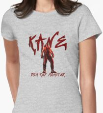 Big Red Monster | Kane Womens Fitted T-Shirt