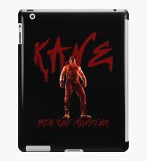 Big Red Monster | Kane iPad Case/Skin