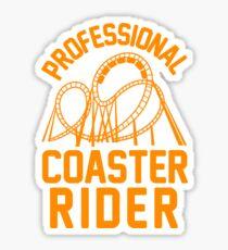 Professional Coaster Rider Sticker