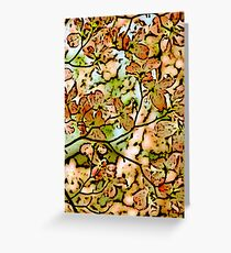 Blossom faded ink Greeting Card