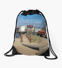 River Wyre Launching Facility - Fleetwood - England Drawstring Bag
