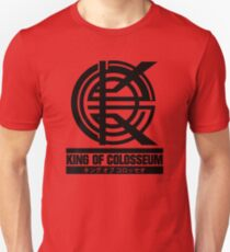 King of Colosseum - V1 - Solid Black T-Shirt