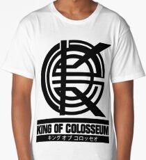 King of Colosseum - V1 - Solid Black Long T-Shirt