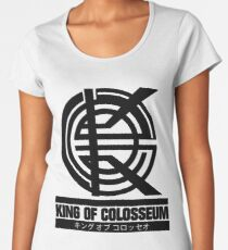 King of Colosseum - V1 - Solid Black Women's Premium T-Shirt