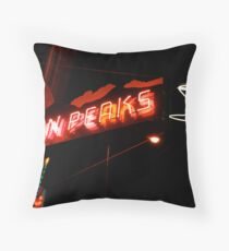 Neon Throw Pillow