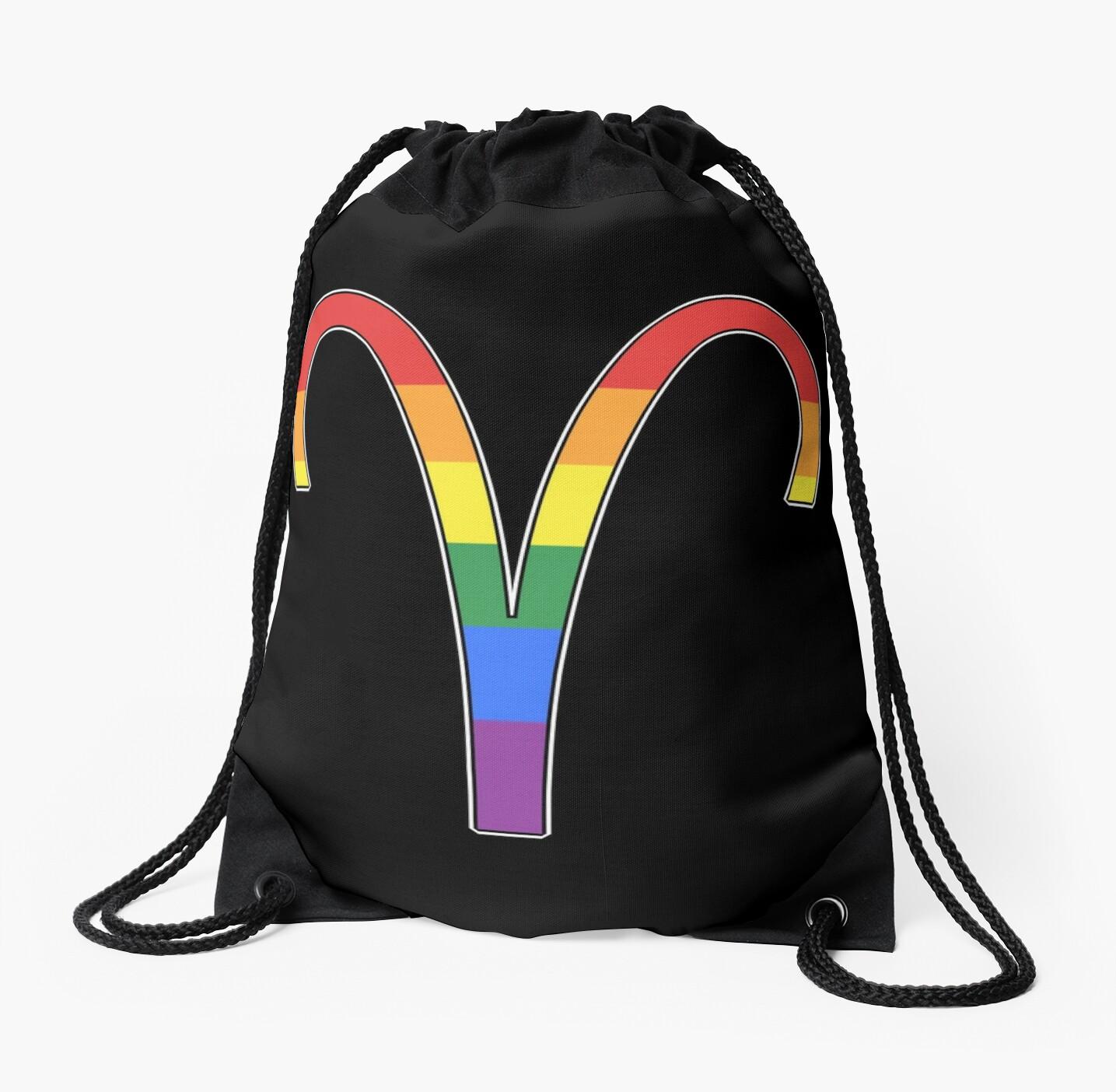Rainbow Aries by porcupride