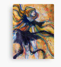 Ribbon Lady Canvas Print