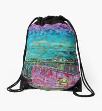 Abstract Art Drawstring Bag