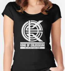 King of Colosseum - v1 - Solid White Women's Fitted Scoop T-Shirt
