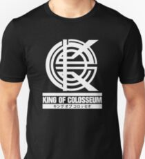 King of Colosseum - v1 - Solid White Unisex T-Shirt