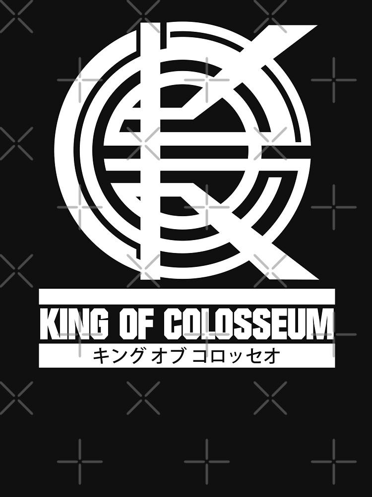 King of Colosseum - v1 - Solid White by SonnyBone