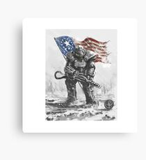 Fallout Armour Canvas Print