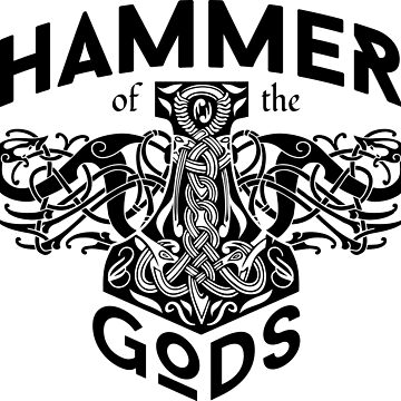 Hammer Of The Gods / Wikinger / Vikings / Black by norwik