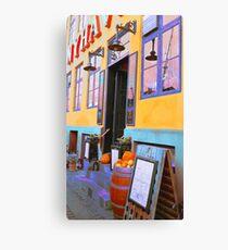 Danish Bar in Autumn  Canvas Print